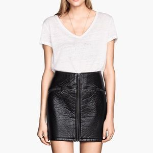 Faux Leather mini skirt NEW